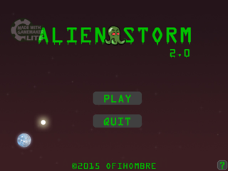 Play Alien Storm (Ofihombre)