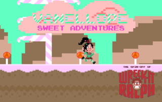 Zagraj Vanellope SweetAdventures