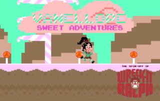 Играть Vanellope SweetAdventures