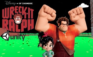 Zagraj Wreck-It Ralph unity