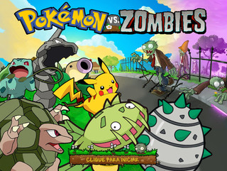 Играть Pokemon VS Zombies 2015