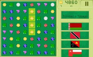Match 3 Quiz Flags