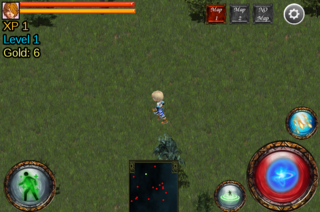 "Play ARPG-""dynamic map"" module Online"