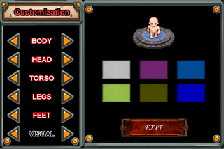 ARPG-customize the avatar