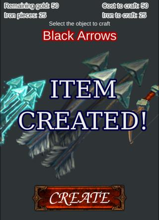 "ARPG-""Crafting items"""