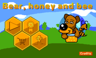 Play Медведь, мёд и пчёлы