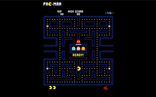 Bermain Pacman