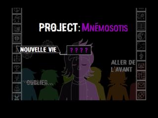 玩 Projet Mnémosotis