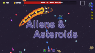 Mainkan Aliens&Asteroids
