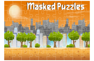 Gioca Masked Puzzles Pro (Demo)