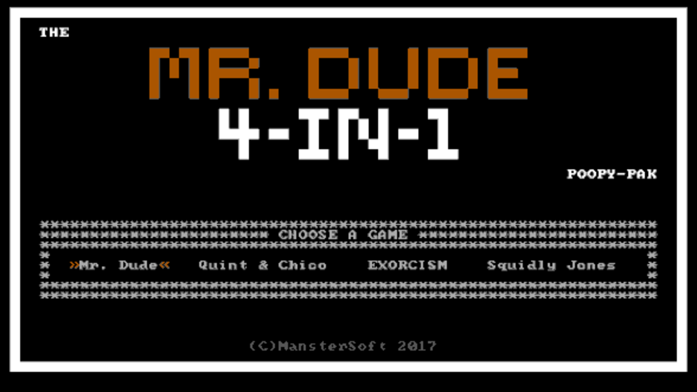 Play Mr. Dude 4-in-1 PoopyPak