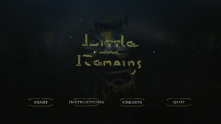 Spielen Little Remains