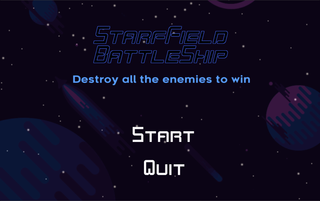 Play Starfield Battleship