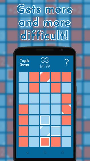 Tap & Swap - puzzle game