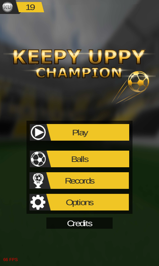 Bermain Keepy Uppy Champion