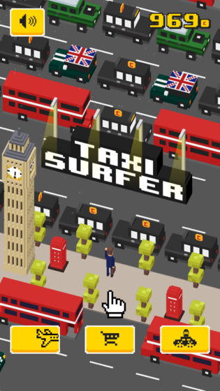Play Taxi Surfer