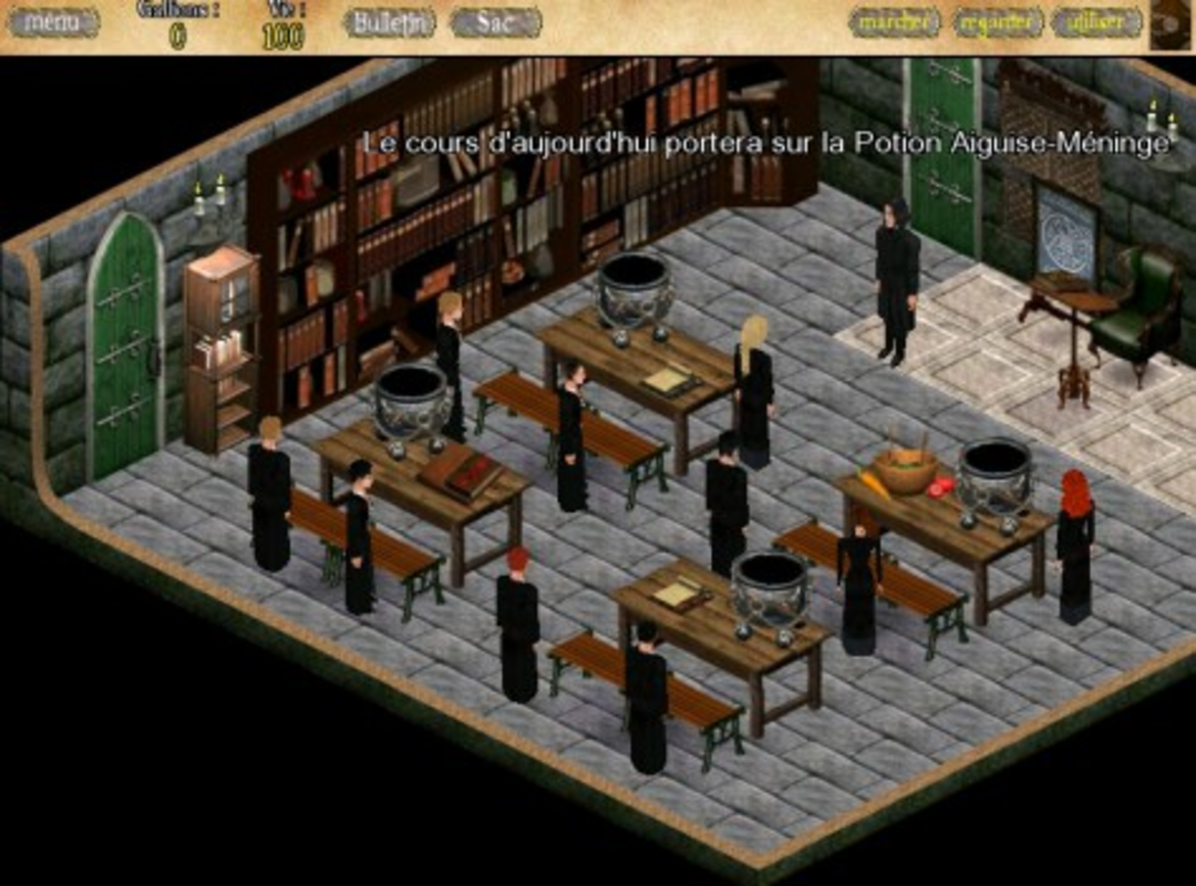 Play Harry Potter RPG