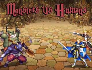 Mainkan Monsters Vs Humans