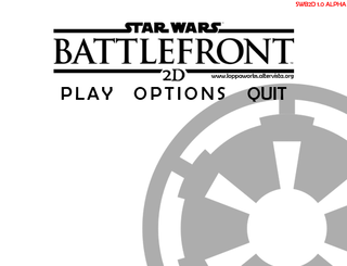 Bermain Star Wars Battlefront 2D