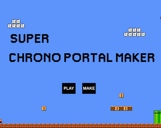 Jouer Super Chrono Portal Maker