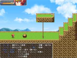 Bermain RPG Maker MV Platformer