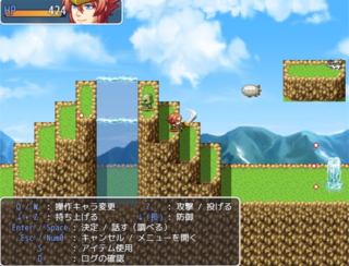 RPG Maker MV Platformer