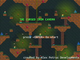 The Cursed Iron Cavern