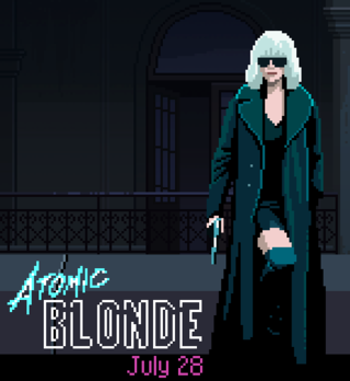 Играть Atomic Blond Game