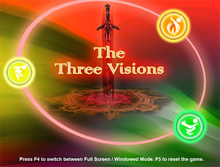 Pelaa The Three Visions
