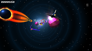 Играть Wormhole Rider