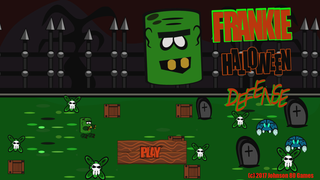 Play Frankie Halloween Defense Online