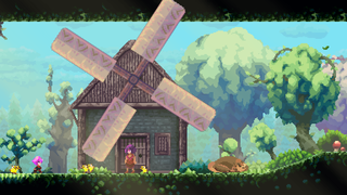 Bermain Nightkeep, RPG platformer
