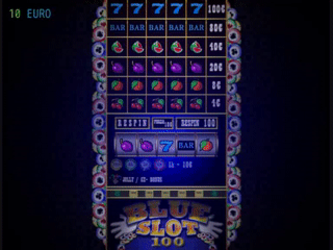 Play BlueSlot100 Slot Machine