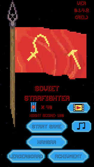 Play Soviet Starfighter