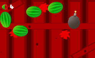 Spielen Fruit Samurai: Android
