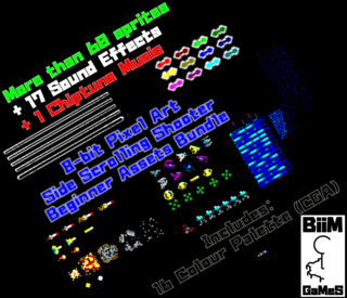 8bit Shooter Asset Bundle