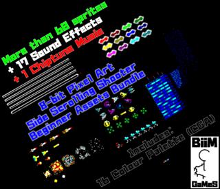 8bit Shooter Asset Bundle