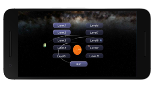 Spela Space Orbit-Gravity Game