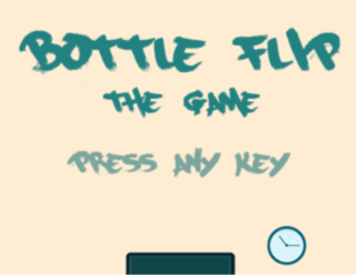 Spielen Bottle Flip
