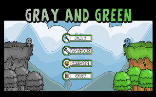 玩 Grey and Green