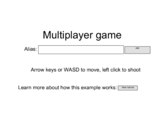 Spielen Multiplayer Template C2