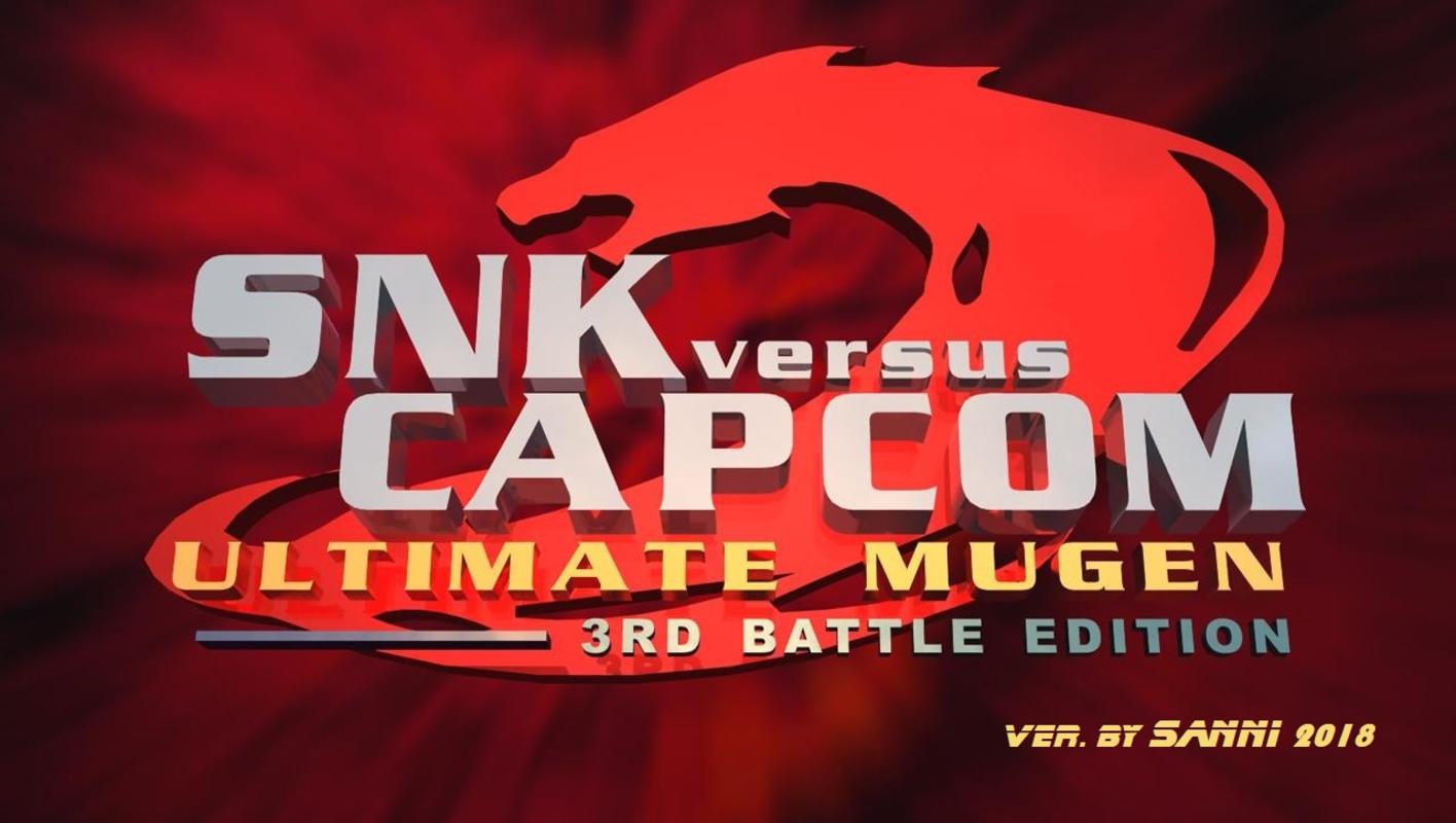 Play MUGEN - Snk v Capcom 2018