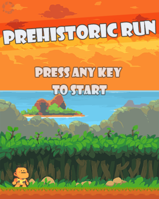 玩 Prehistoric Run