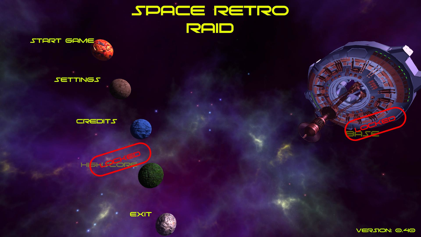 Play Space Retro Raid