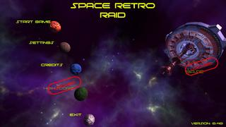 Bermain Space Retro Raid