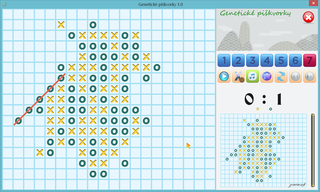 Play Genetic Tic-Tac-Toe
