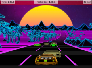 Play Outrun 3D Javascript Online