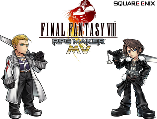 Bermain Final Fantasy 8 2D MV