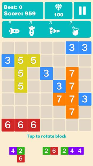 Play Get block 10