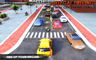 Play illegal city traffic